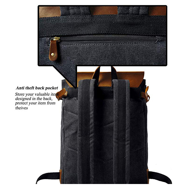 Casual Backpack with Comfortable Shoulder Strap